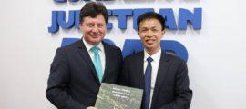 iustin cionca vizita China 12 iunie