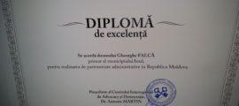 diploma Gheorghe Falca