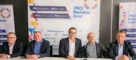 PRO Romania Arad - Daniel Chereches - Victor Ponta - Marin Lupas - Sorin Cimpeanu - Flavius Maduta