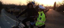 politia locala biciclist