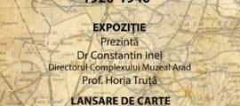 Afis 26 iunie Aradul in Romania Mare WEB