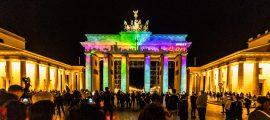 Festivalul Luminilor de la Berlin, ediţia 2018 - Poarta Brandenburg