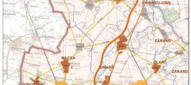 harta-drum-expres-Arad-Oradea